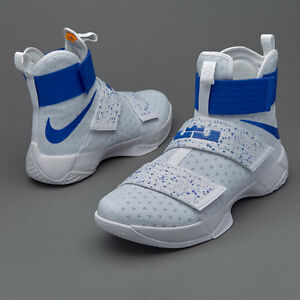 new concept c14e6 0c6be Image is loading Nike-LeBron-Soldier-10-Kentucky-PE-Size-11-