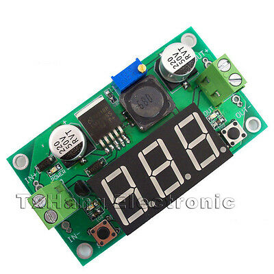 LM2596 DC to DC  Buck Step Down Converter Module Voltage Regulator Led Voltmeter