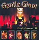 Live in Stockholm 1975 by Gentle Giant (CD, Apr-2009, Major League Productions Ltd.)