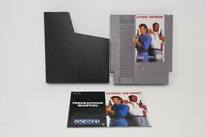 Lethal-Weapon-Nintendo-Entertainment-System-1993-w-Instruction-Manual
