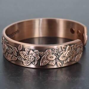 Image Is Loading Womens Magnetic Bracelet For Arthritis Copper