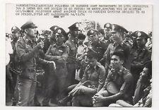 PHOTO PRESSE AFP Bangkok Thaïlande Grève des Policiers Décembre 1974 Radiophoto
