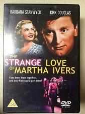 Barbara Stanwyck Kirk Douglas STRANGE LOVE OF MARTHA IVERS ~ 1946   UK DVD