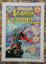ACTION COMIC #440 - OCT 1974 - BRUCE WAYNE APPEARANCE! - VFN (8.0) CENTS COPY!