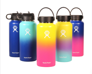 Venera Stainless Steel Pop Up Straw Cap Mouth Vacuum Insulated Water Bottle
