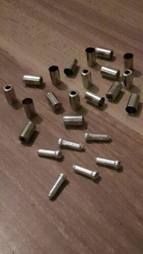 silber für Fahrrad Brems-/& Schaltzugaußenhüllen 5mm 20 PROMAX  Endkappen 5mm