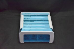 Anabox-Wochendosierer-7-Tage-Wochenspender-Pillendose-Pillenbox-Medikamentenbox
