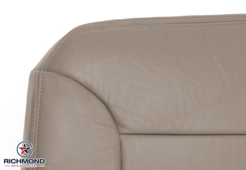 1997 Chevy Suburban C//K Driver Side Bottom Replacement Leather Seat Cover Tan