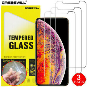 For-iPhone-11-Pro-X-XR-XS-Max-8-7-6-Plus-SE-HD-Tempered-Glass-Screen-Protector
