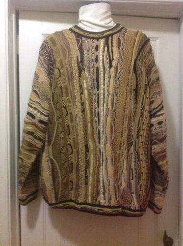 Sweater Sz stile Xl Multicolor Coogi Tunda pRqw07Rd