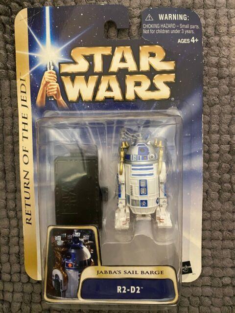 NEW 2003 STAR WARS RETURN OF THE JEDI R2-D2 JABBA'S SAIL BARGE ROTJ #5! S123