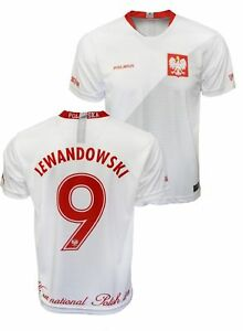 finest selection 6a2b9 1ae75 Polska Robert Lewandowski #9 Replica Polish Soccer Jersey ...