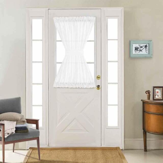 French Door Curtain Panel Rod Pocket