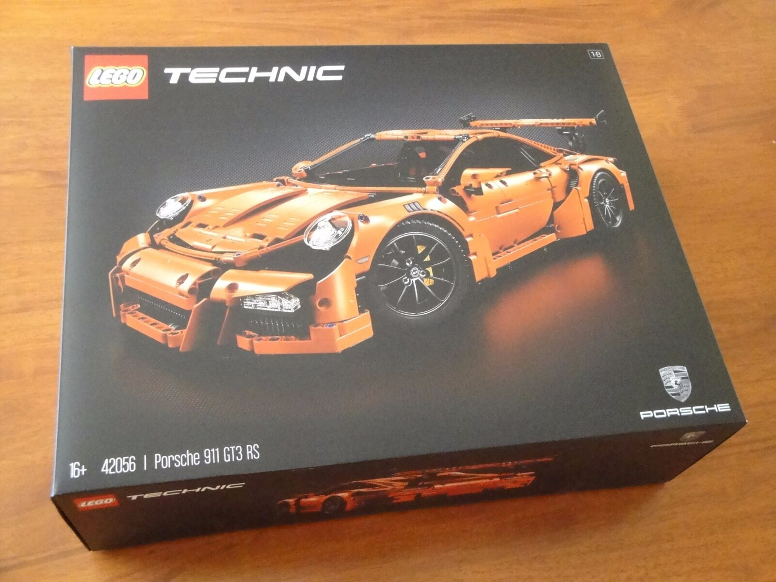 LEGO TECHNIC 42056 PORSCHE 911 GT3 RS EXCLUSIVE, NUOVA DISPONIBILE, CON OMAGGIO