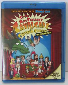 Seth Macfarlane S Cavalcade Of Cartoon Comedy Uncensored Blu Ray Excellent 24543592730 Ebay