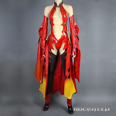 Guilty Crown Yuzuriha Inori cosplay costume and Shoes