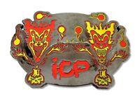 Insane Clown Posse - Icp Jeckyl Brothers Jester Joker Clowns Belt Buckle -