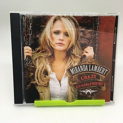 Miranda Lambert - Crazy Ex-Girlfriend CD - Brand New   eBay