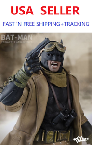 1-6-Scale-Batman-Accessory-Clothes-Suit-Set-only-for-hot-toys-figure