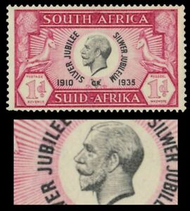SOUTH-AFRICA-69avar-King-George-V-Silver-Jubilee-034-Vertical-Line-034-pa17800