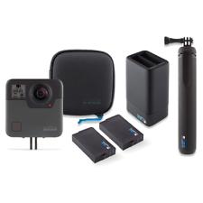 GoPro Fusion Camera d'action 360° Résistant à l'eau +Chargeur de batterie double