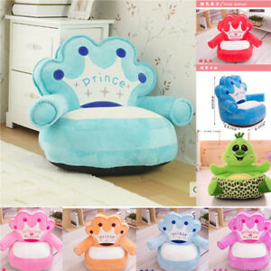 Image is loading Kids-Children-Comfy-Soft-Plush-Chair-Toddlers-Armchair-  sc 1 st  eBay & Kids Children Comfy Soft Plush Chair Toddlers Armchair Seat Nursery ...