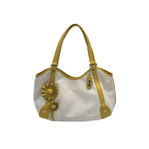 Cole-Haan-Jitney-Flower-Canvas-Tote-Purse-Bag