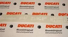 "2004 Ducati 999 Fila Racing Sponsor L/H fairing decal 14.5"" X 1.75"" Brembo, SKF"