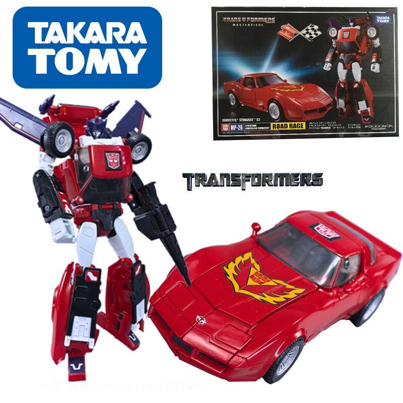 Takara Transformers Masterpiece MP-26 Road Rage Corvette Stingrau C3 Kid Car Toy