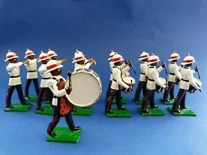 13 Soldats De Plomb Fanfare La Police Bahamas - Musique
