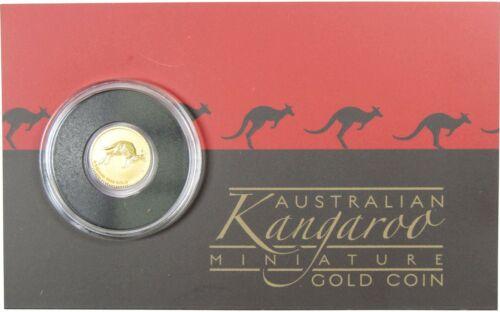 2017 $2 Australian Gold Kangaroo Mini Roo .9999 0.5 g Gold Coin Choice Proof