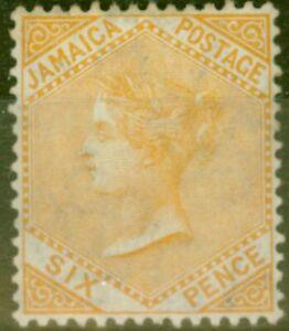 Jamaique-1906-6d-Dull-Orange-SG51-Fin-MTD-Excellent-Etat