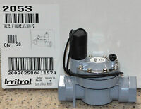 Buy 1 To 20 Irritrol 205 Series 1 Slip Electric Valve Current Date Code W/o Flo
