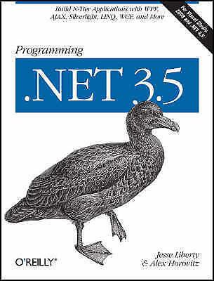 1 of 1 - Programming .NET 3.5, Good Condition Book, Alex Horovitz, Jesse Liberty, ISBN 97