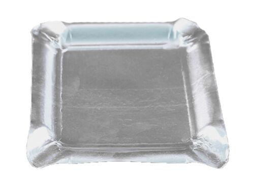 302211 250 Aschenbecher Aluascher Aluaschenbecher eckig 12,5 x 12,5 cm Alu