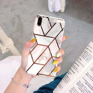 For-iPhone-11-Pro-Max-8-7-6-6S-Plus-X-XR-XS-MAX-Marble-Soft-Phone-Case-Glass