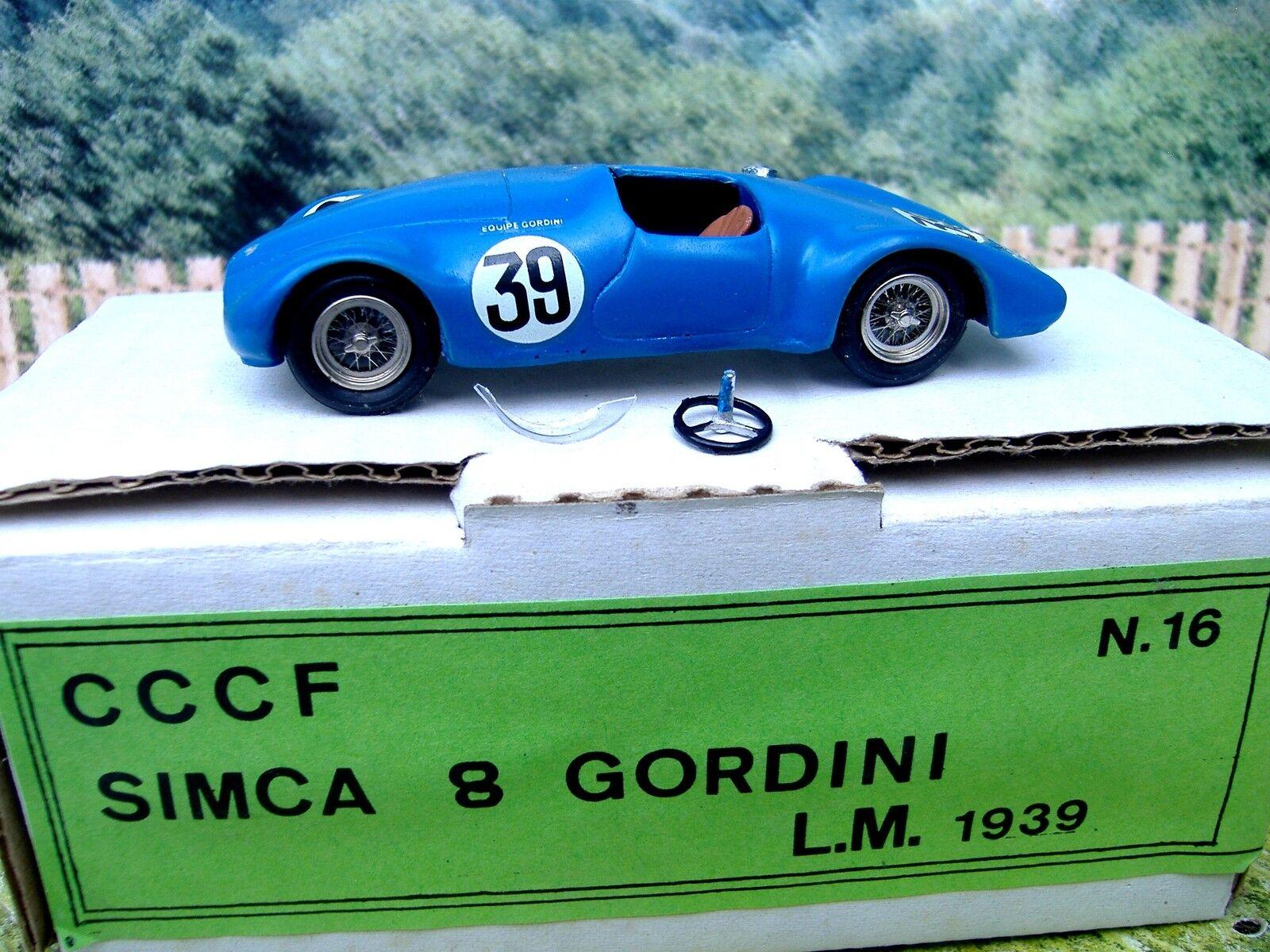 1   43 cccf (frankreich), simca 8 gordini - 1939
