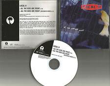 LOCAL H All the Kids are right Rare PROMO Radio DJ CD Single 1998 USA MINT