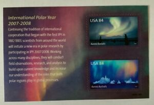 US-Scott-4123-International-Polar-Year-Souvenir-Sheet-2007-2008-MNH