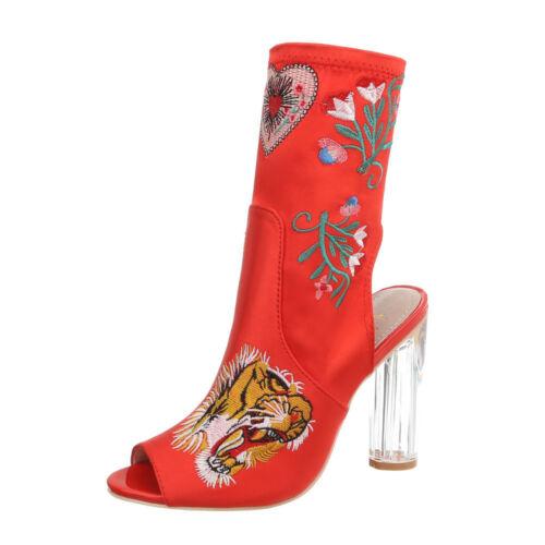 High Heels Peep Toe Damenschuhe 9016 Ital-design