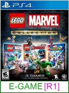 PS4-LEGO-Marvel-Collection-R1-Brand-New-amp-Sealed