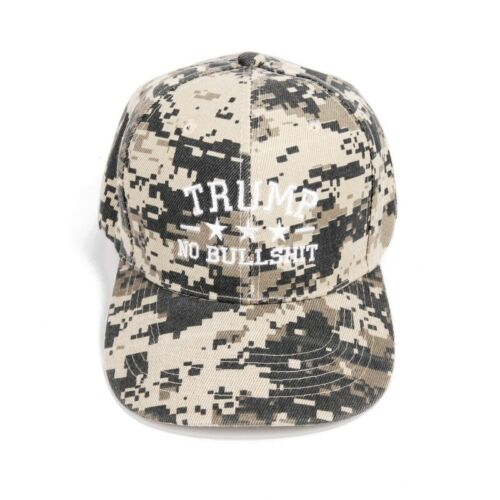 Donald Trump 2020 MAGA Embroidered Camo Baseball Cap Keep America Great Hat-WI