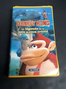 Donkey-Kong-Legend-Of-The-Crystal-Coconut-1996-VHS-French-Version