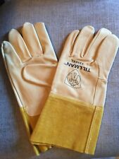 Xl Tillman 1335 Top Grain Pigskin Tig Welding Gloves 4 Cuff Extra Large