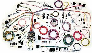 1967-1968 Camaro American Autowire Clic Update Wiring Harness ...