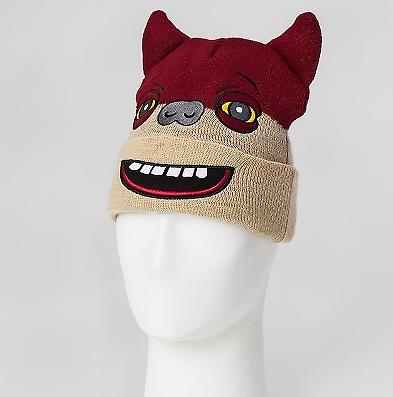 e84e54499c188d Spin Master Red Squirrel Fuggler Funny Ugly Monster Beanie Hat Licensed