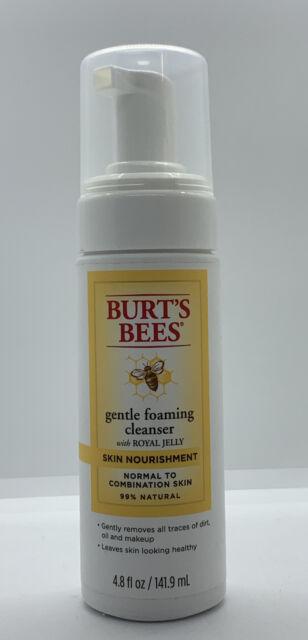 Burt's Bees Skin Nourishment Gentle Foaming Cleanser, 4.8 Ounces