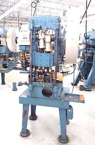 Details about Perkins Transfer Stamping Punch Press machine 15 Ton AC/AB  Pristine!