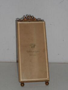 Cadre Louis Xvi En Bronze Et Verre Biseaute.pour Miniature,photo,peinture.xix°.