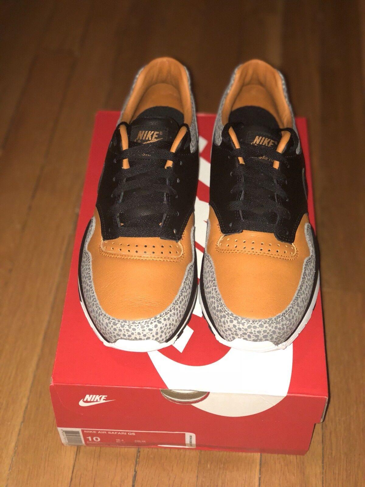 Hombres Nike Air negro Safari QS ao3295-001 monarca negro Air / negro envio gratis Wild Casual Shoes c4b1a8
